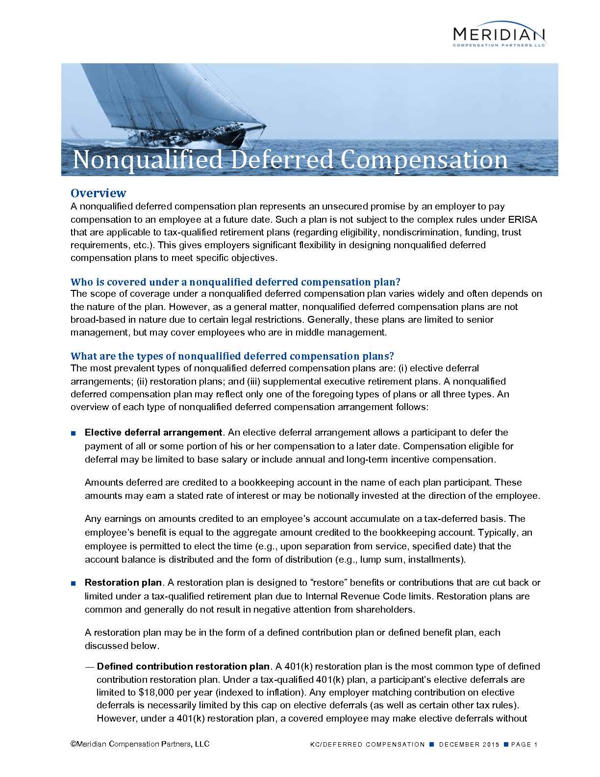 Nonqualified Deferred Compensation (PDF)