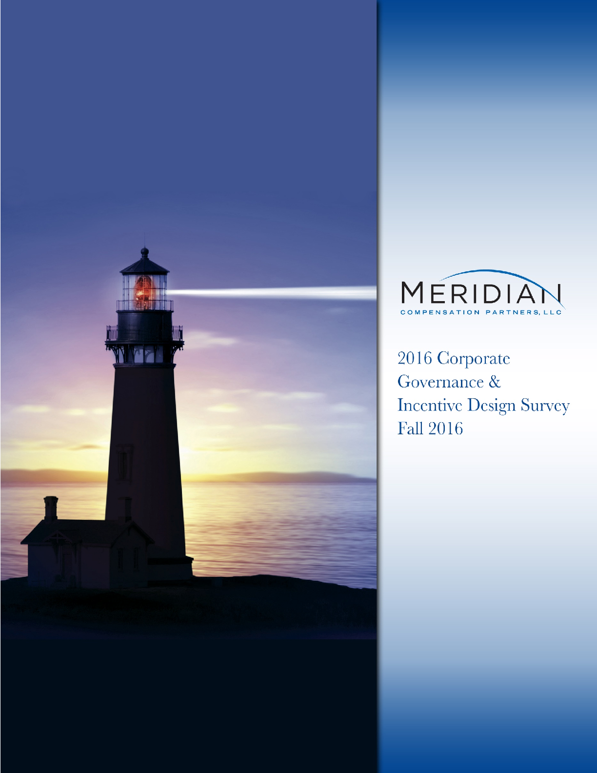 2016 Corporate Governance & Incentive Design Survey (PDF)