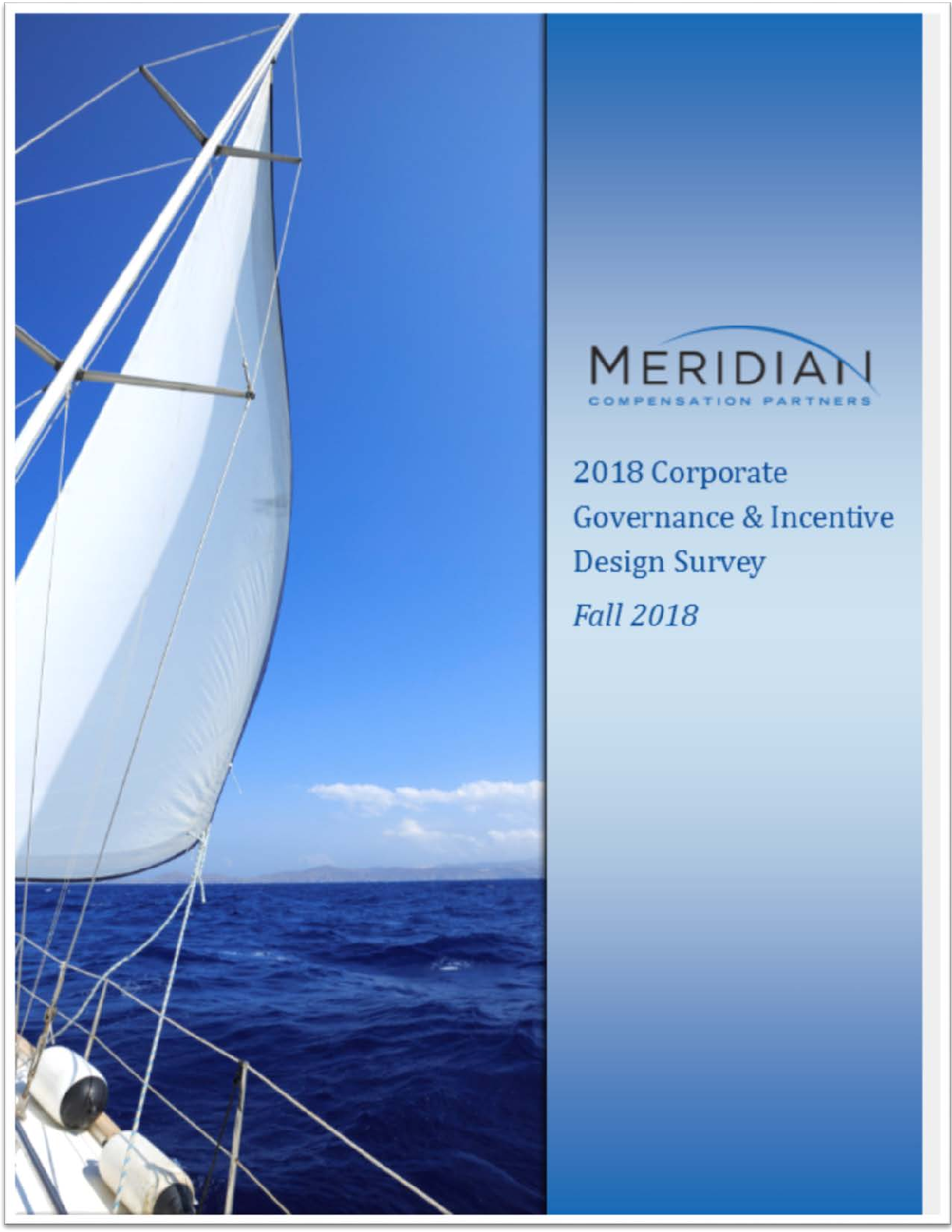 2018 Meridian Corporate Governance and Incentive Design Survey (PDF)