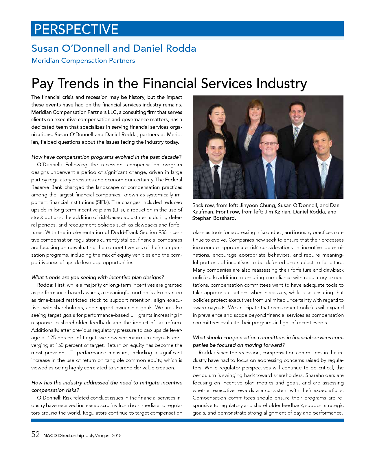 Pay Trends in the Financial Services Industry (PDF)