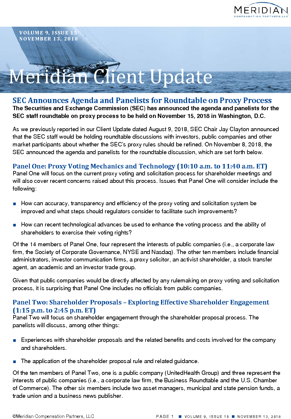 SEC Announces Agenda and Panelists for Roundtable on Proxy Process (PDF)