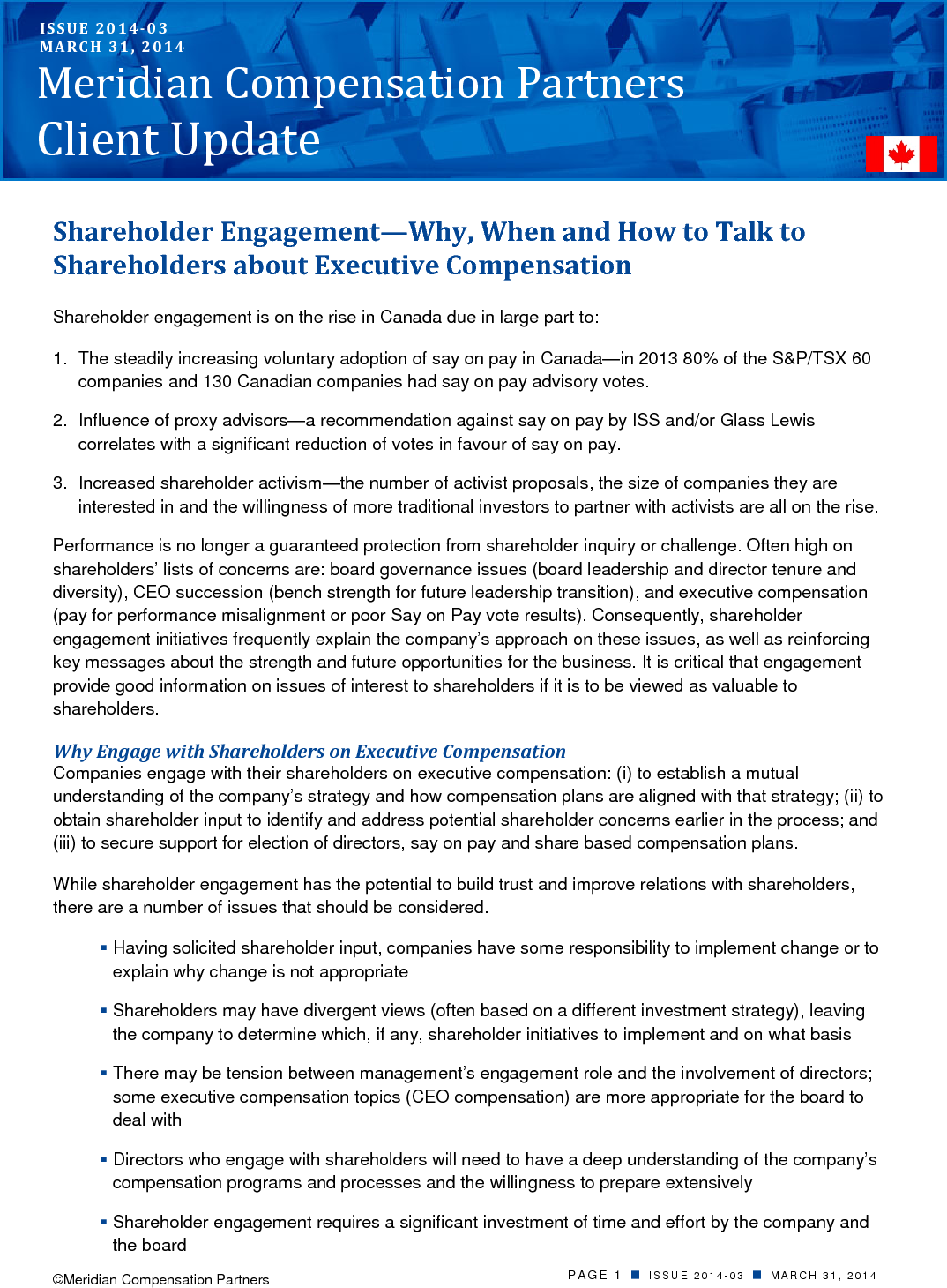 Engaging Shareholders (PDF)