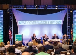 NYSE/Corporate Board Member's East Coast Boardroom Summit