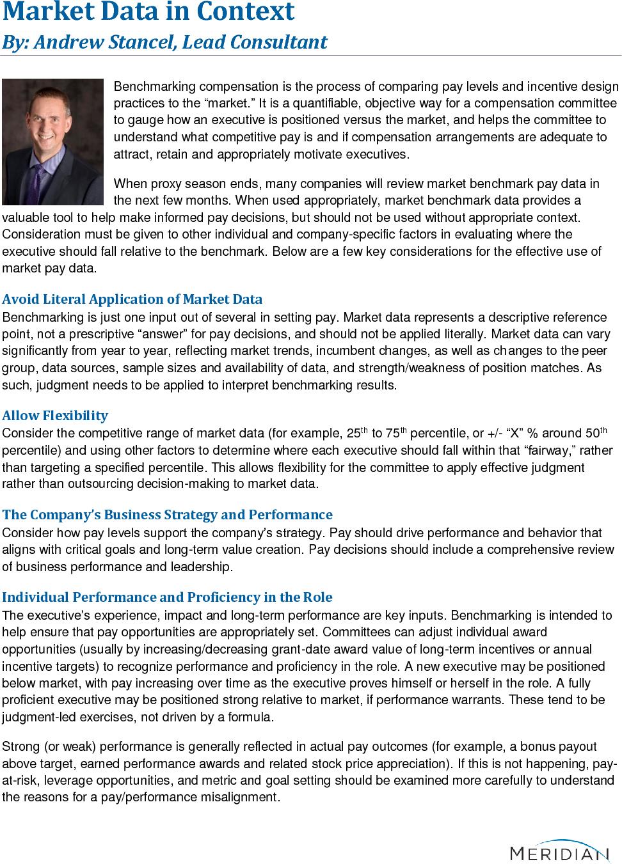 Market Data in Context (PDF)