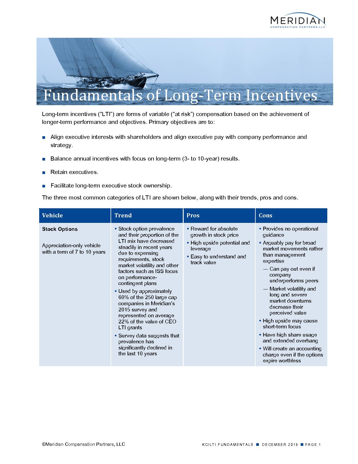 Fundamentals of Long-Term Incentives (PDF)