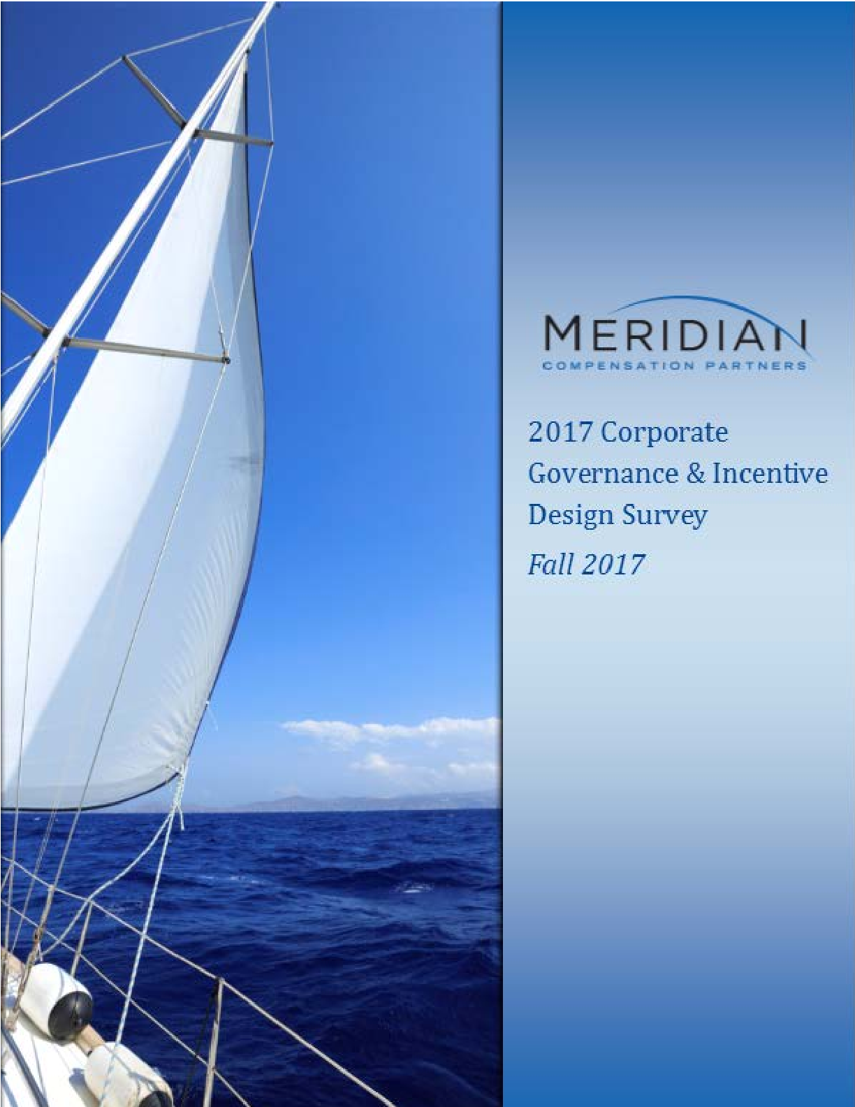 2017 Meridian Corporate Governance and Incentive Design Survey (PDF)
