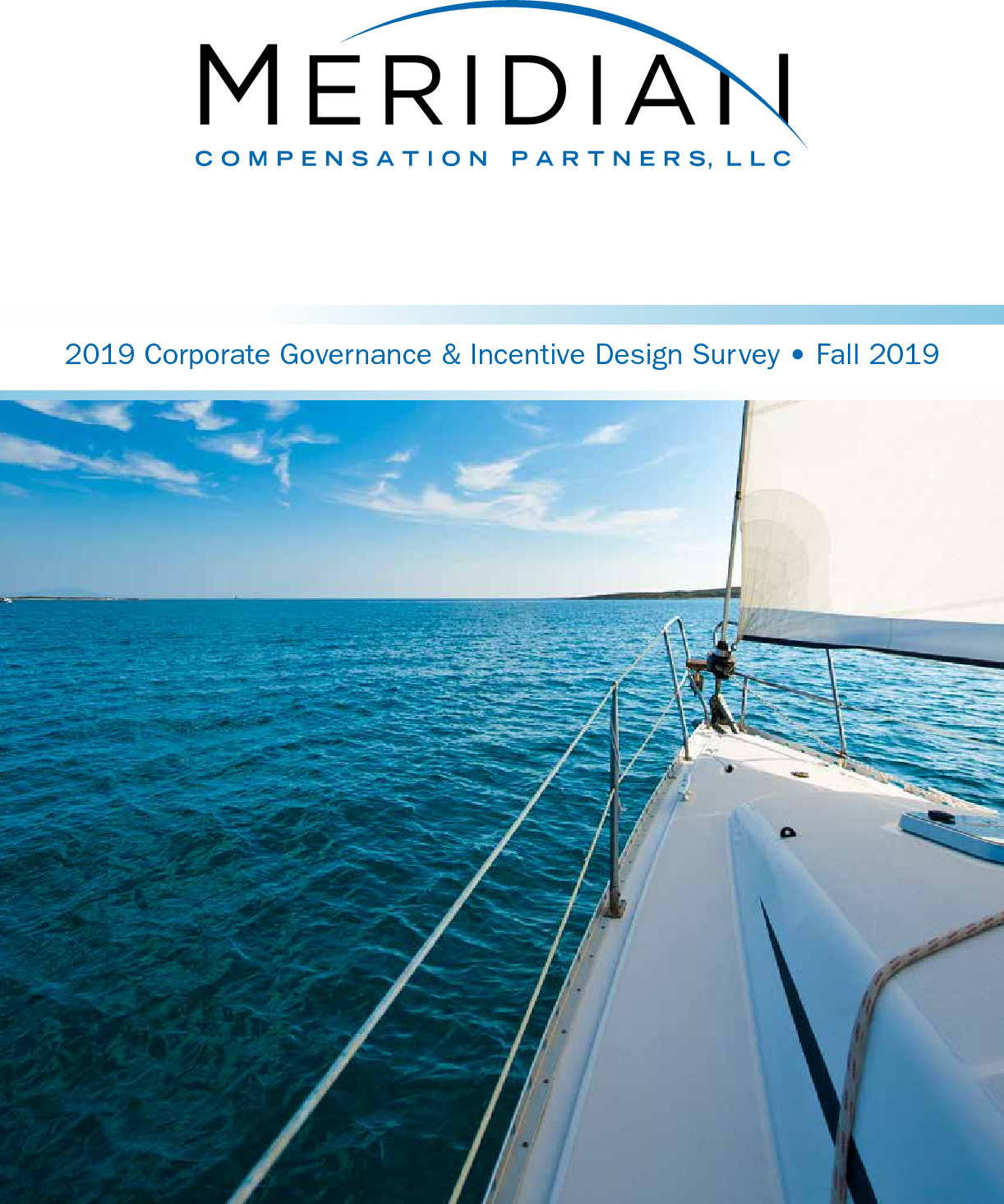 2019 Meridian Corporate Governance and Incentive Design Survey (PDF)