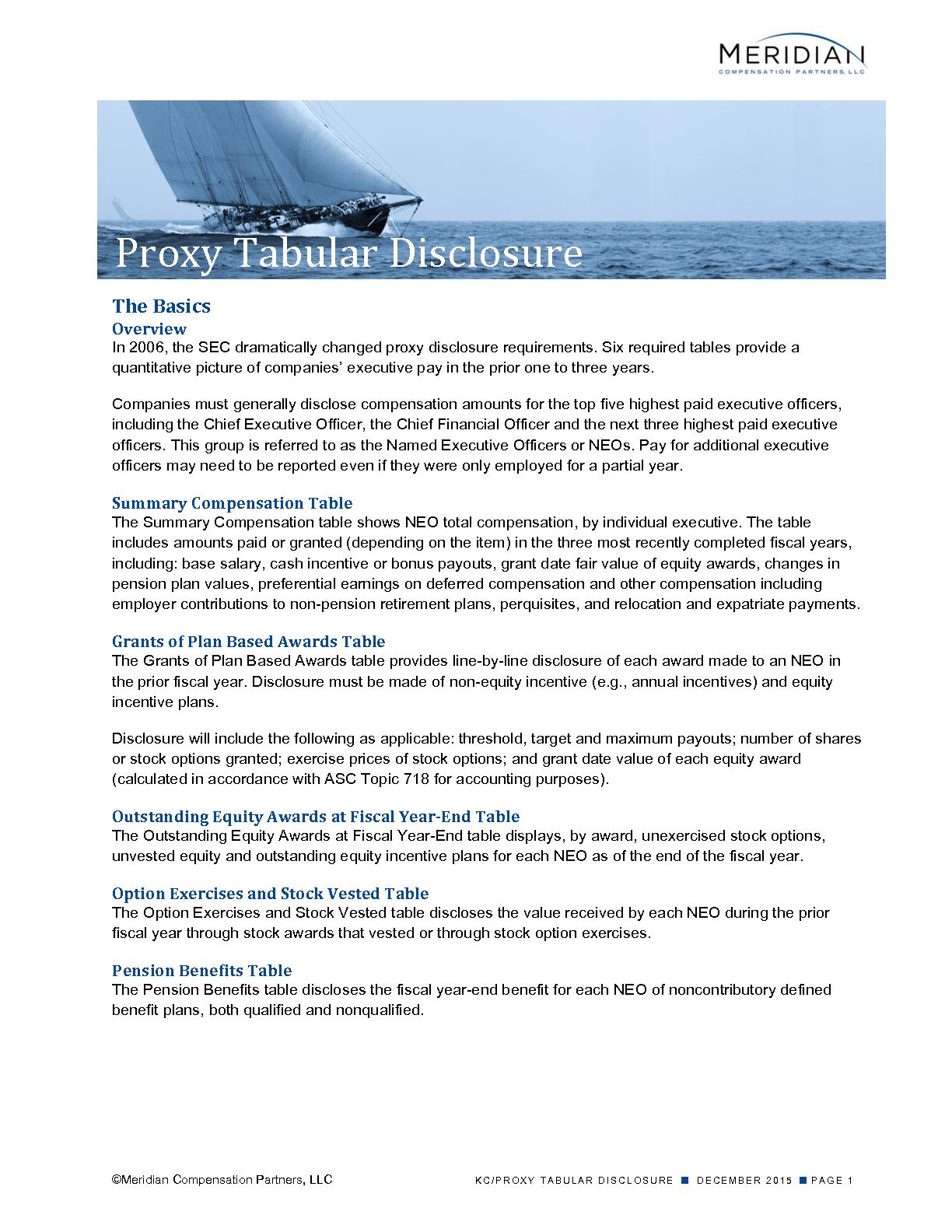 Proxy Tabular Disclosure (PDF)