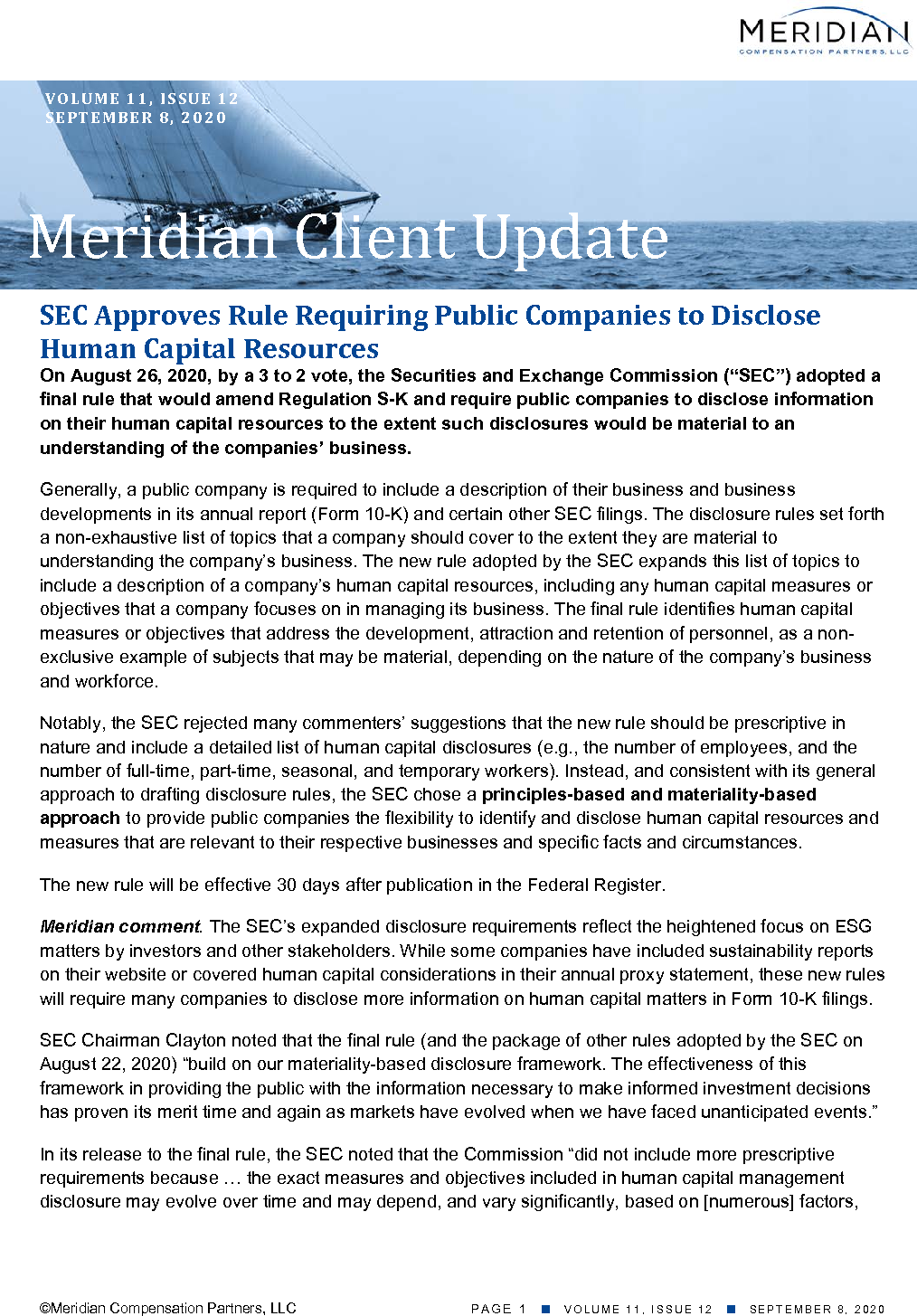 SEC Approves Rule Requiring Public Companies to Disclose Human Capital Resources (PDF)