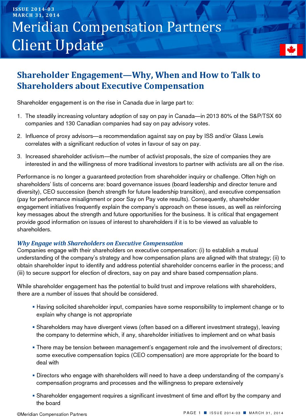 Engaging Shareholders (PDF)