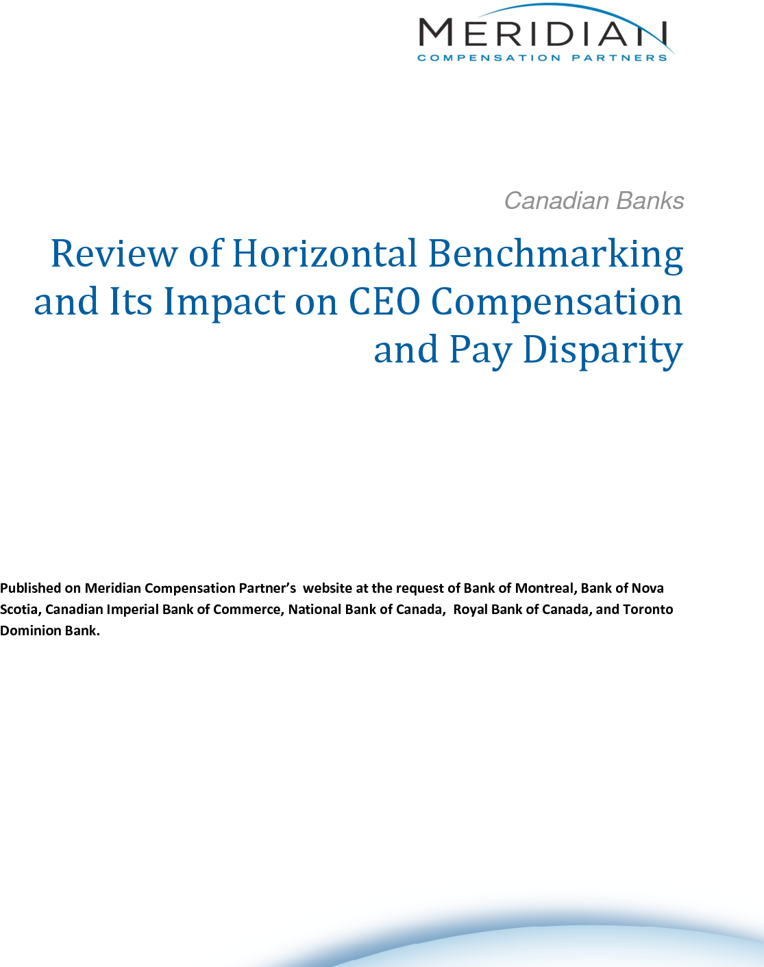 Review of Horizontal Benchmarking and Its Impact on CEO Compensation and Pay Disparity (PDF)
